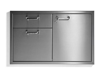 Lynx Classic Door Drawer Combination With LED Interior Lightning - LSA36