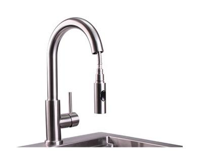Lynx Professional Gooseneck Pull Down Faucet - LPFK