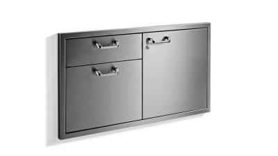 Lynx Classic Door Drawer Combination With LED Interior Lightning - LSA42